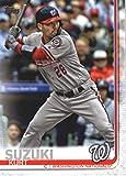 2019 Topps #654 Kurt Suzuki Washington Nationals Baseball Card