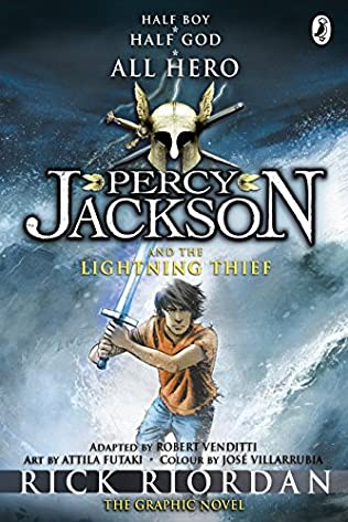 book cover of Percy Jackson and the Lightning Thief: The Graphic Novel