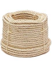 Flandria sisal touw Ø 8 mm - snaren 50 m natuur 386-50