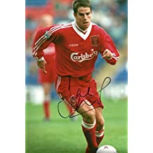 Jamie Redknapp SOCCER autograph, In-Person signed photo