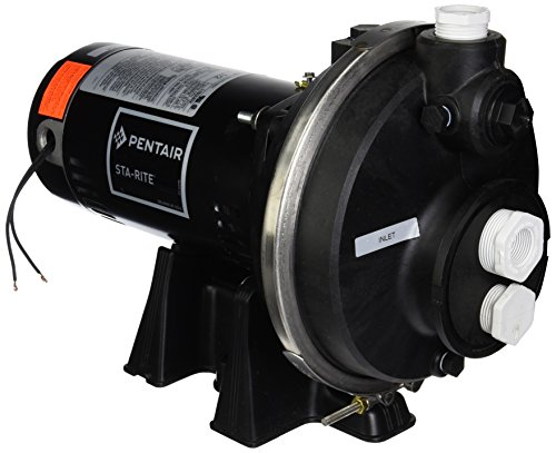 Pentair Sta-Rite PLBC-178L PLBC-Series High Pressure Booster Pool Pump, 1/2 HP, 115/230-Volt (Rite Sta Booster Pump)