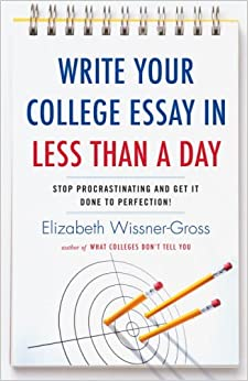 write your college essay in less than a day stop procrastinating  see all buying options
