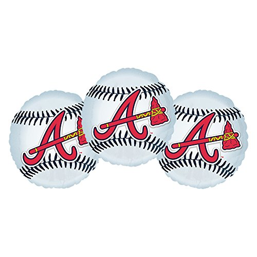Atlanta Braves Baseball Party Decoration 18