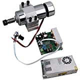 SUNWIN 400W CNC Air-cooled Spindle Motor PWM Speed Controller Power Supply MountBracket