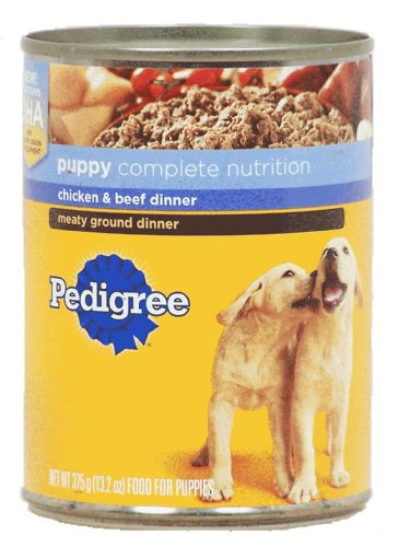 Pedigree Brand Canned Dog Food for Puppies