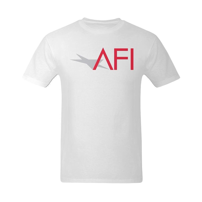 Flesiciate Men Simple American Film Institute Abbreviation Design Custom Retro