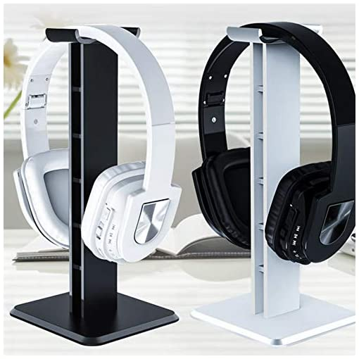 Panamami Z1 Universal Headphone Stand Acrylic Headset Earphone Stand Holder Display for gaming headsets  – Black