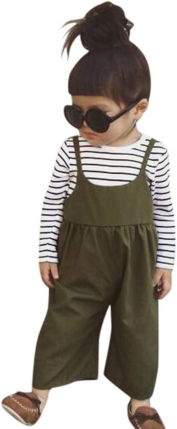 Geilisungren Ropa Bebé Niña Conjunto de Traje Pantalones ...