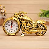 homedics time projection - Clocks Desk Family Decoration Alarm Clock Classic Motorcycle Mute Snooze Mechanical Alarm Clock Desk Bedroom