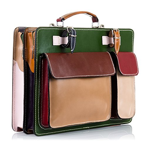 Men's Multicoloured Organizer Clutch Artegiani Firenze O7wUq5Y