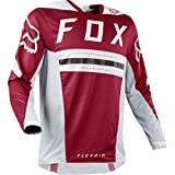 Fox Racing 2018 Flexair Preest Jersey-Dark Red-L