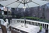 EcoGecko Super Bright LED Umbrella Pole