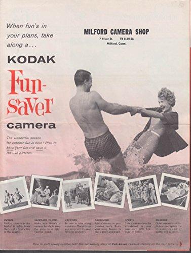 Kodak Mailers (Kodak Fun-Saver Camera catalog mailer 1962)