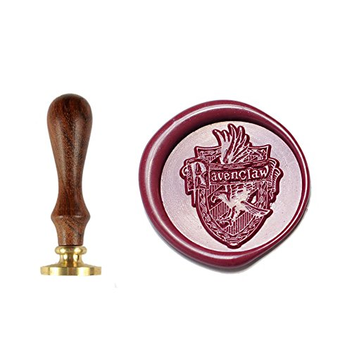 Magic Stamps - UNIQOOO Arts and Crafts Ravenclaw Magic Four Acedemy Badge Wax Seal Stamp, Great Embellishment of Cards, Envelopes, Birthday Invitations, Wine Packages, Gift Idea