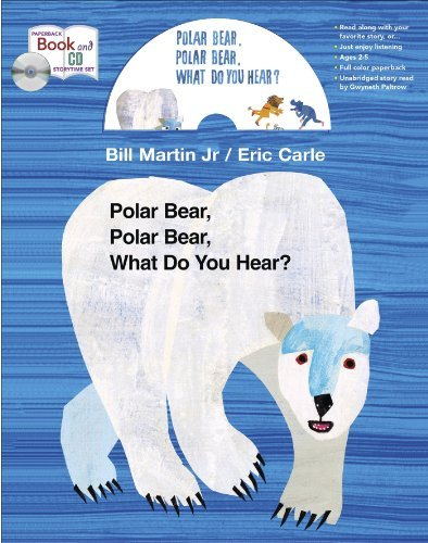 By Bill Martin Polar Bear book and CD storytime set (MacMillan Young Listeners) (Unabridged) [Paperback] ebook