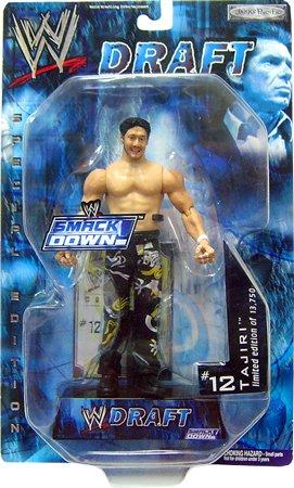 (WWE Jakks Pacific Wrestling Action Figure Smackdown Draft #12 Tajiri)