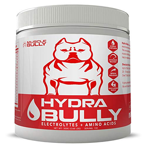 - Hydra Bully Electrolytes and Amino Acids Formula - Helps Hydrate and Replenish The Body, Accelerates Recovery, Improves Endurance, Builds & Repair Muscle.