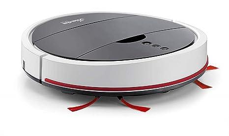 lgvshopping Robot Vileda VR 102 Aspiradora silenciosa con sensores Integrados Limpieza Hogar batería Iones de Litio
