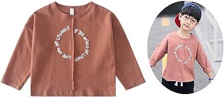 Camiseta de Manga Larga Niños y niñas Alfabeto inglés ...