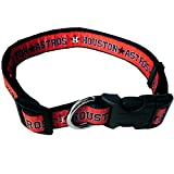 Pets First MLB Houston Astros Dog Collar, Large