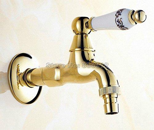 5151BuyWorld Grifo de alta calidad, color dorado, latón, diseño de ...