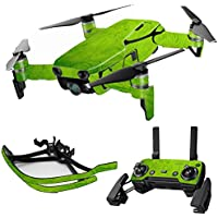 MightySkins Skin for DJI Mavic Air Drone - Green Cement | Max Combo Protective, Durable, and Unique Vinyl Decal wrap cover | Easy To Apply, Remove, and Change Styles | Made in the USA