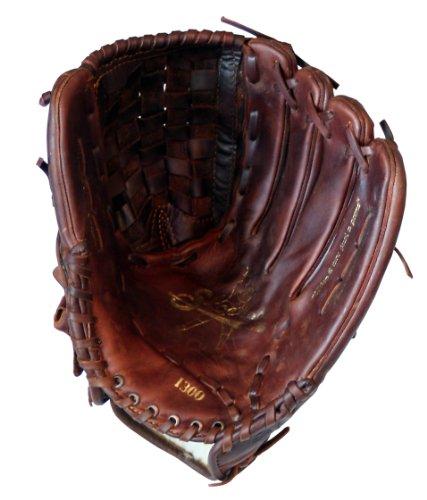 Shoeless Joe Gloves Fast Pitch Basket Weave Web Brown Baseball Glove, Right Hand, 13-Inch by Shoeless Joe Gloves