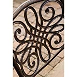 Hanover Traditions 9-Piece Cast Aluminum Outdoor