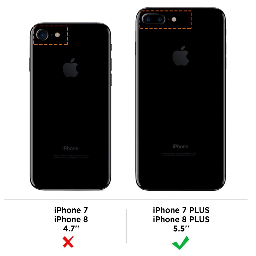 custodia iphone 8 plus ricaricabile