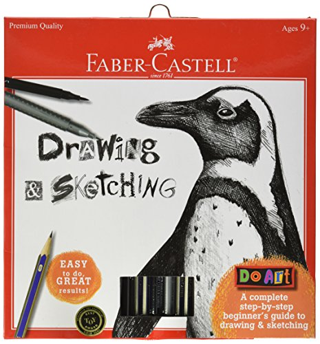 Faber-Castell - Do Art Drawing and Sketching Art Kit - Premium Kids Crafts -