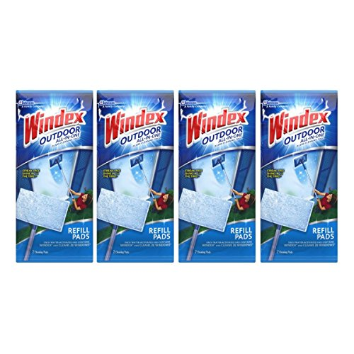 UPC 689833687604, Windex All-In-One Window Cleaner Pads Refill - 2 ct - 4 pk