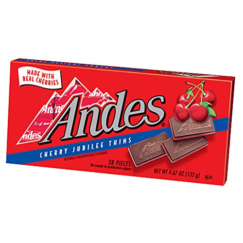 Andes Cherry Jubilee Thins - 4.67-oz. Box (Case of 12)