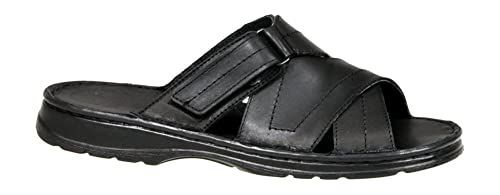 Calzado Genuina Piel Bufalo Zapatos Forma Ortopedica Comodos Sandalias Hombres Modelo 866 utL6m