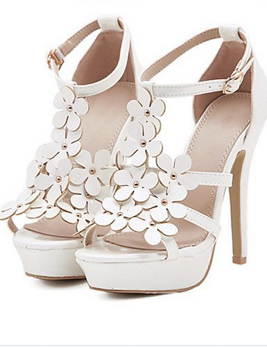 ShangYi Stiletto Dress Casual Heels Heel Women's Pink White Shoes Open Toe Sandals Green RqnwrBRxCE