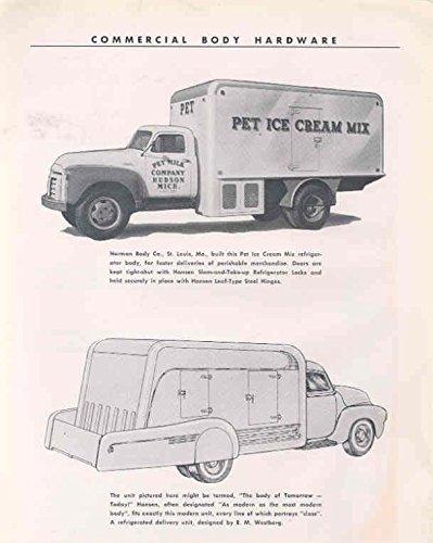 1953 GMC Herman Pet Ice Cream Mix Truck Brochure from GMC
