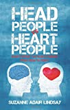 img - for HEAD PEOPLE VS HEART PEOPLE book / textbook / text book