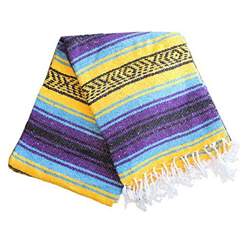 Vintage mexican blanket götü olan