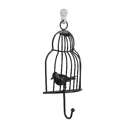 Ivyode - Gancho para Jaula de pájaros de Hierro Forjado Creativo ...