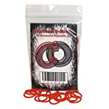 100 Polyurethane CO2 / HPA Tank O-Rings (90 Durometer) [RED]