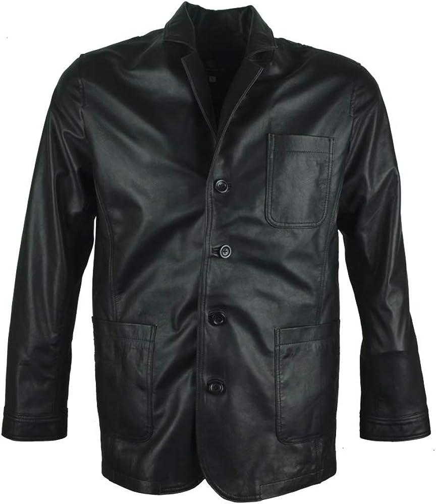 James Bond Daniel Wroughton Craig Classic Real Leather Blazer Coat