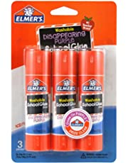 Elmers/X-Acto Elmer's Washable School Glue Stick-Purple.2280ml