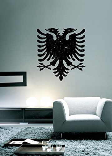 Albanian Eagle Albania Design Wall Decal - 25