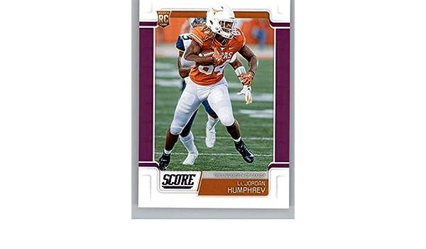 73af72e37ebea Amazon.com: 2019 Score Purple Football #402 Lil'Jordan Humphrey ...