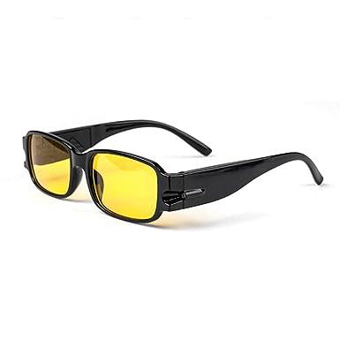 b238ad59613 Electrical LED Reading Glasses Unisex Dark Environment Eyes Protect Healthy  Illuminated Glasses  Amazon.co.uk  Clothing