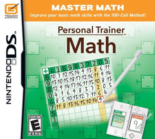 Personal Trainer: Math - Nintendo DS (Ds Games Multiplication)