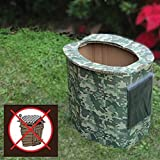 Ultimate Arms Gear 5 Pack of Biodegradable Personal Portable Hygiene Folding Reusable Disposable Bathroom Outhouse Outdoors Camping Hunting Hiking Tactical Camo Camouflage
