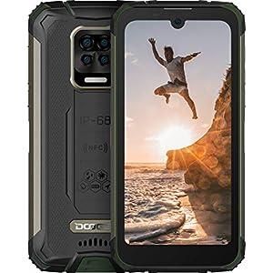 DOOGEE S59 Pro 2021 10050 mAh Batteria Rugged Smartphone, 4 GB + 128 GB, 2W Powerful Speaker IP68 Cellulari Resistenti…