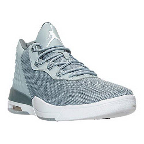 Nike Jordan Academy, Zapatillas de Baloncesto para Hombre Gris (Gris (wolf grey/white-cool grey))