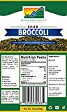 Mother Earth Products, Dehydrated Broccoli Quart Mylar, 9 Oz
