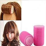 2Pcs/Set Plastic Hair Rollers Curlers Bangs